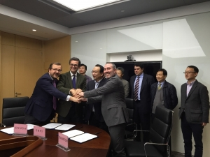 Signature of the agreement with SNPI