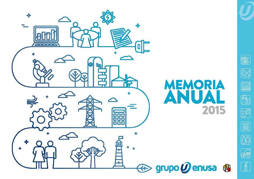 Memoria GRUPO ENUSA 2015