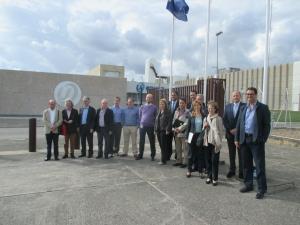 Visita Plataforma Tecnológica CEIDEN en ENUSA