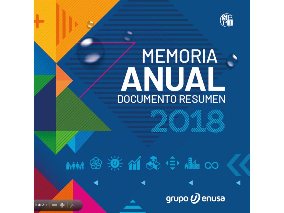 MEMORIA ANUAL DOCUMENTO RESUMEN 2018