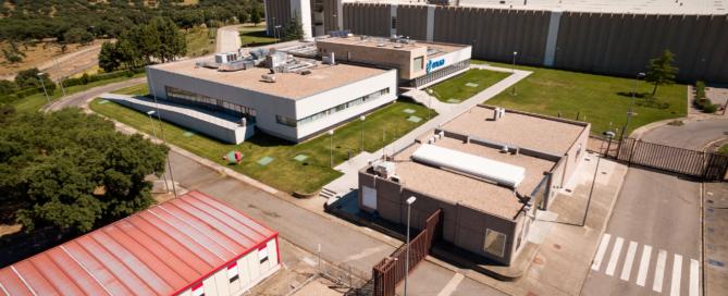 Fábrica de elementos combustibles de ENUSA en Juzbado