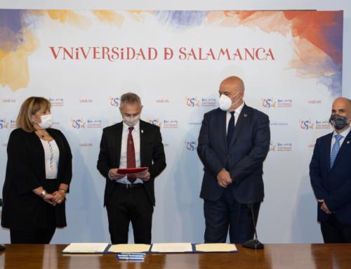 ENUSA y la Universidad de Salamanca firman un acuerdo de colaboración para la promoción de la investigación y la divulgación científico-cultural